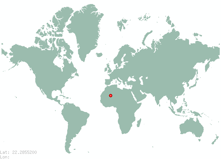 Hong Kong in world map